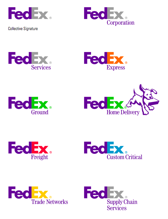multi-brand retail: fedex