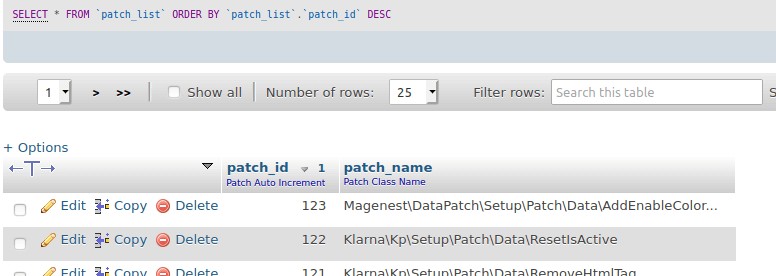 Apply data patch in Magento 2: Record patch