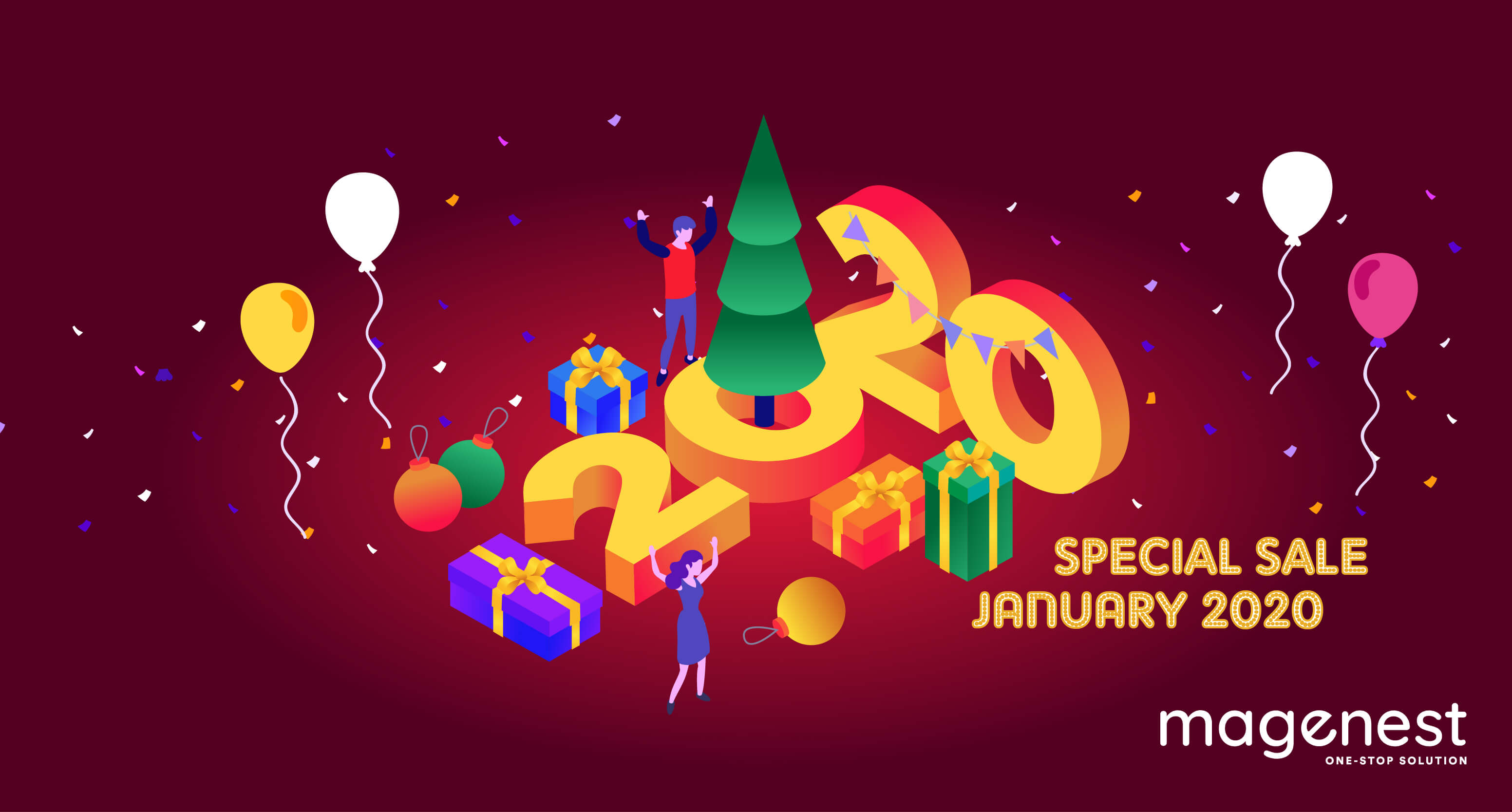 New Year Sale for Perfect Magento 2 Extension Packages