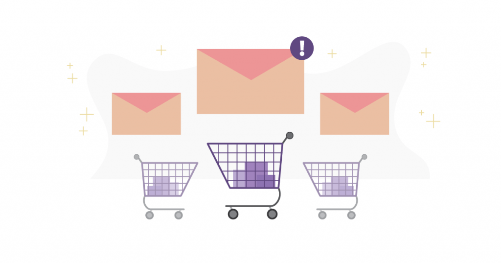 Email marketing: abandoned cart