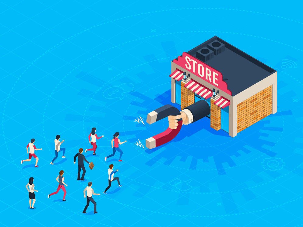 store within a store: attract customers