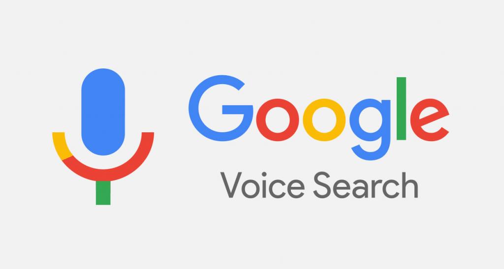 Voice search: Google