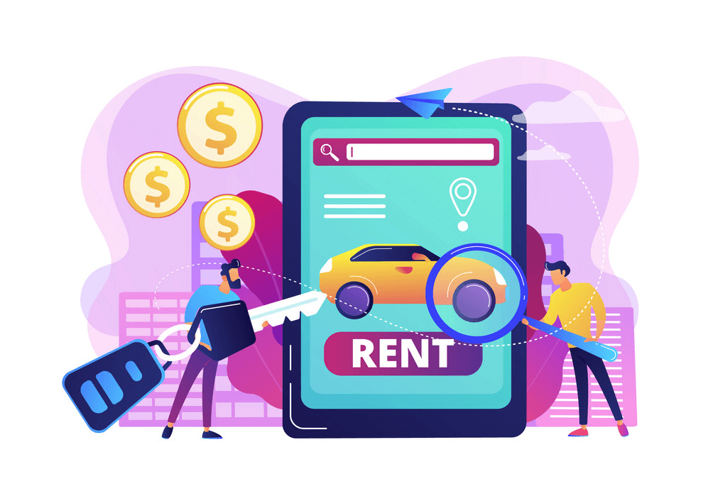 online rental business: right customers