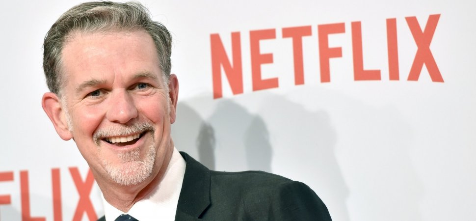 Netflix Subscription: Reed Hastings