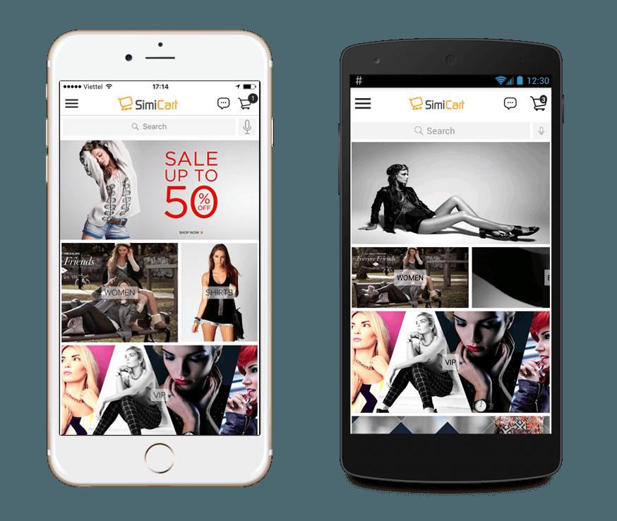 magento 2 app builder: simicart