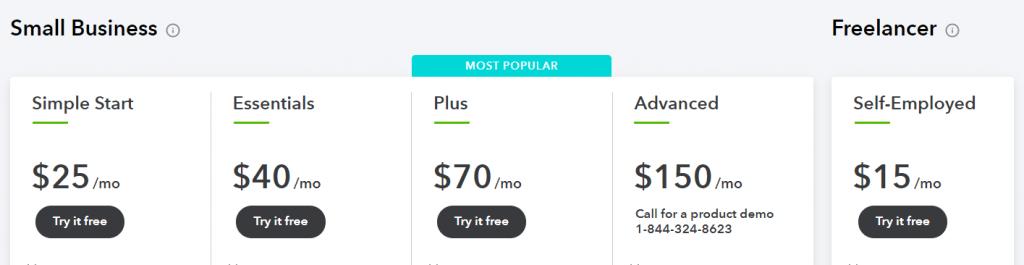 quickbooks faqs: Quickbooks online pricing