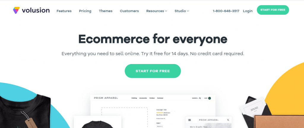eCommerce platforms: volusion