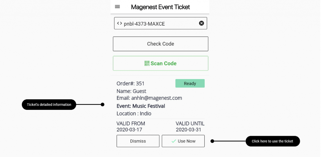 Sell event tickets online: magenest mobile booking app