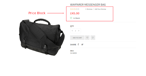 price block