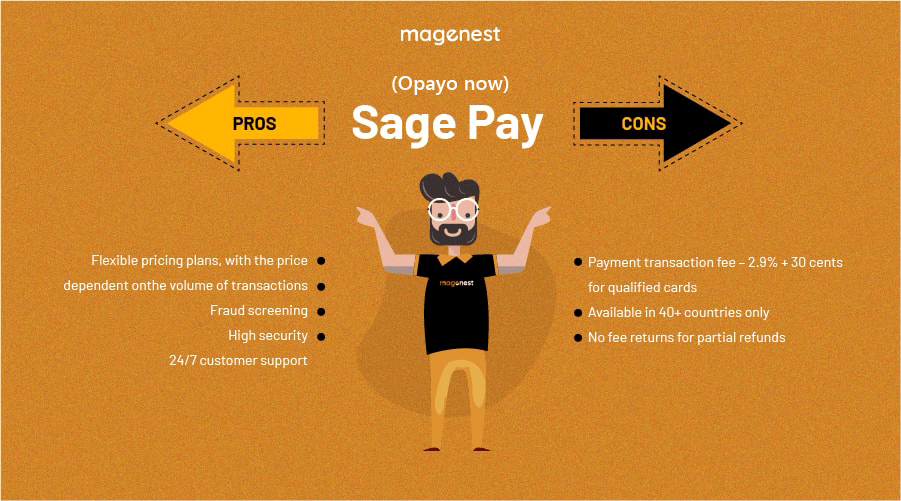Choosing Magento 2 Payment Gateway - Opayo Pros & Cons
