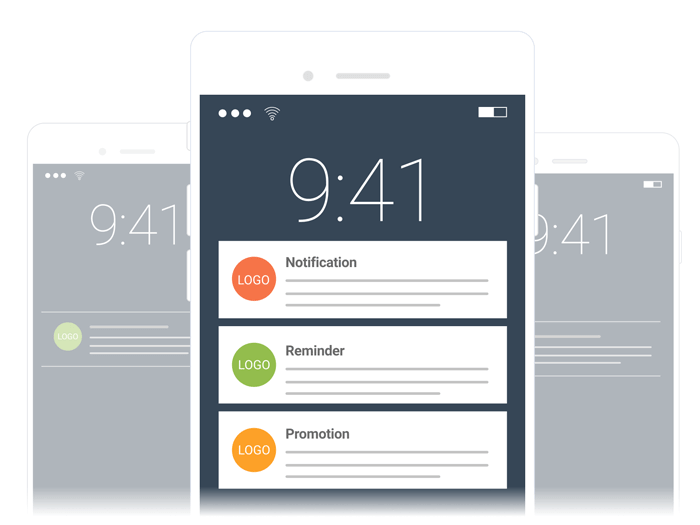 Mobile experience: Push notification on mobile app
