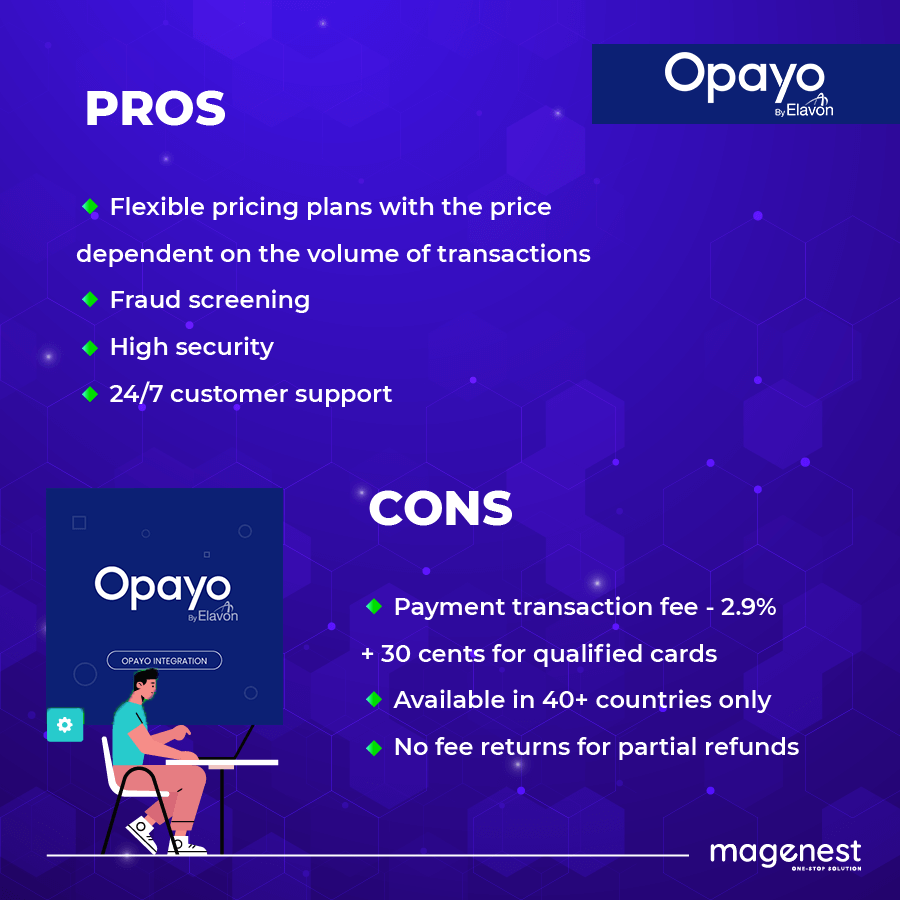 Best Magento Extensions: Opayo pros and cons