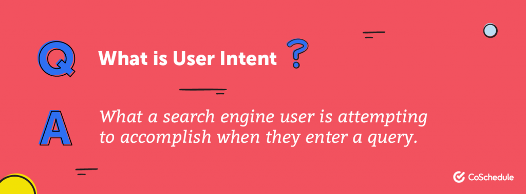 voice search optimization: user intent