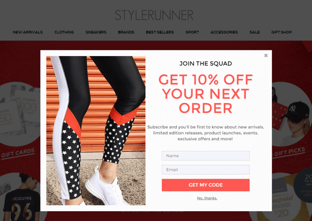 Why ecommerce pop-up: grow your email list