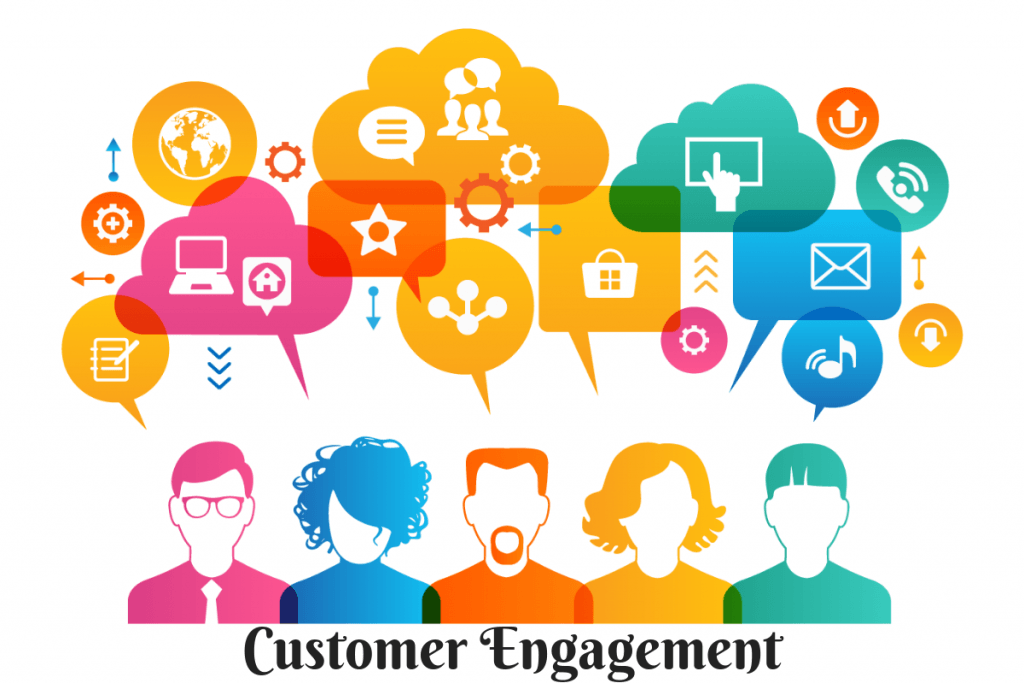 5 ways to increase customer engagement on eCommerce websites illustration