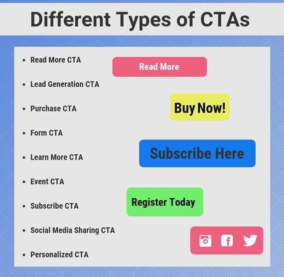 types of cta list