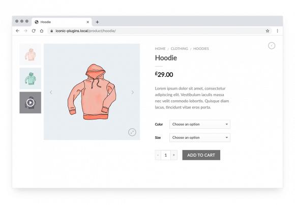 eCommerce product images: medium size