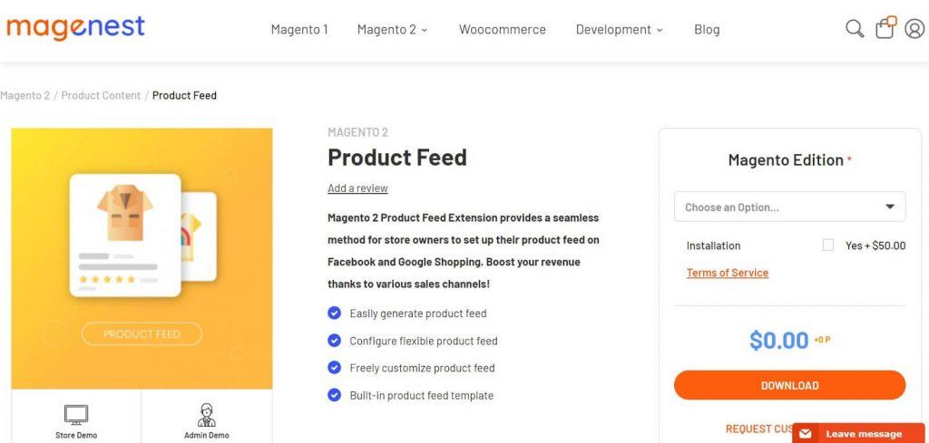 Magento 2 Google Shopping Feed: Magenest