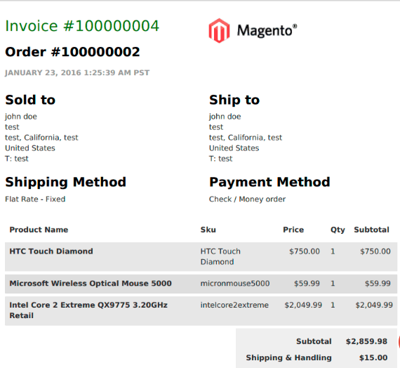 11 best Magento PDF 2 Invoice extensions free & paid 2020 - Potatocommerce