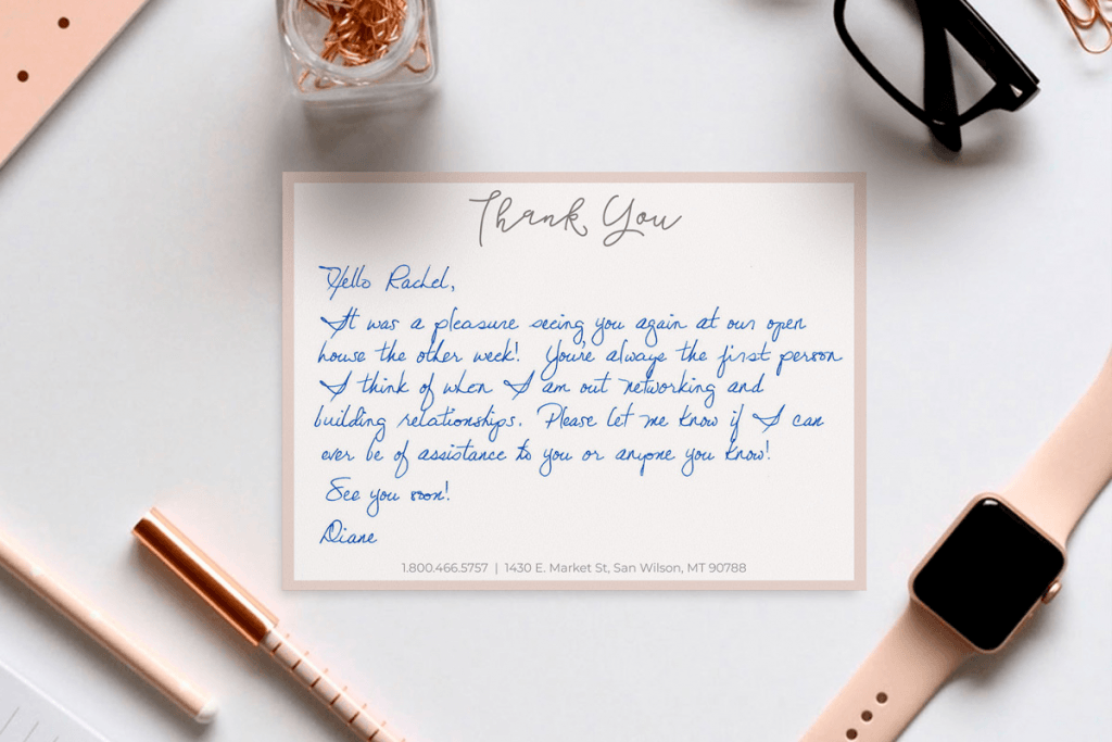 11 effective customer retention strategies to retain your customers thank you note example