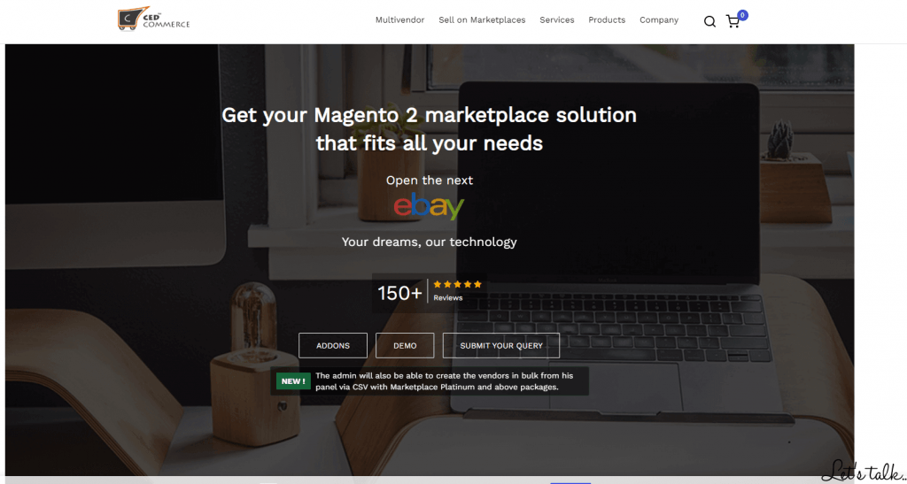 Magento Marketplace Multi Vendor by CEDCommerce
