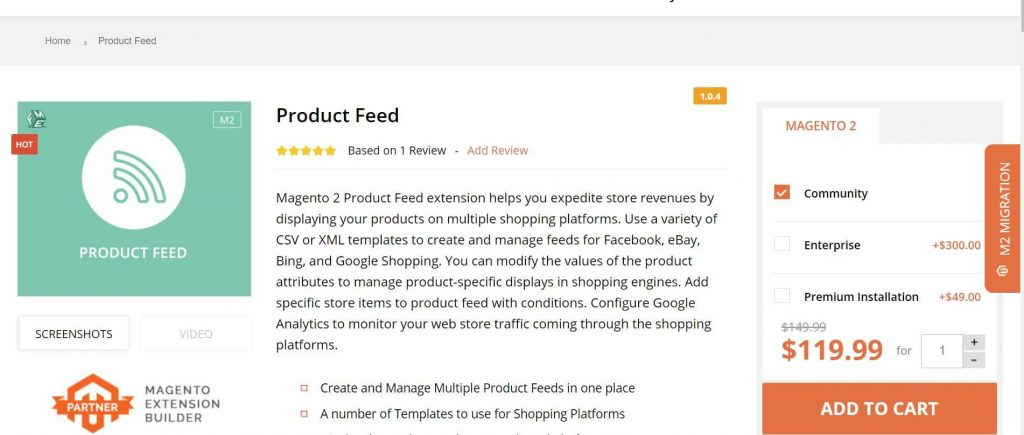 Magento 2 Google Shopping Feed extensions: FME