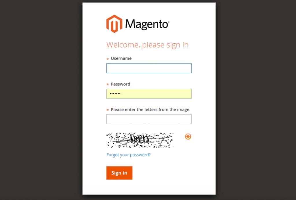 Magento 2.4.1 CAPTCHA