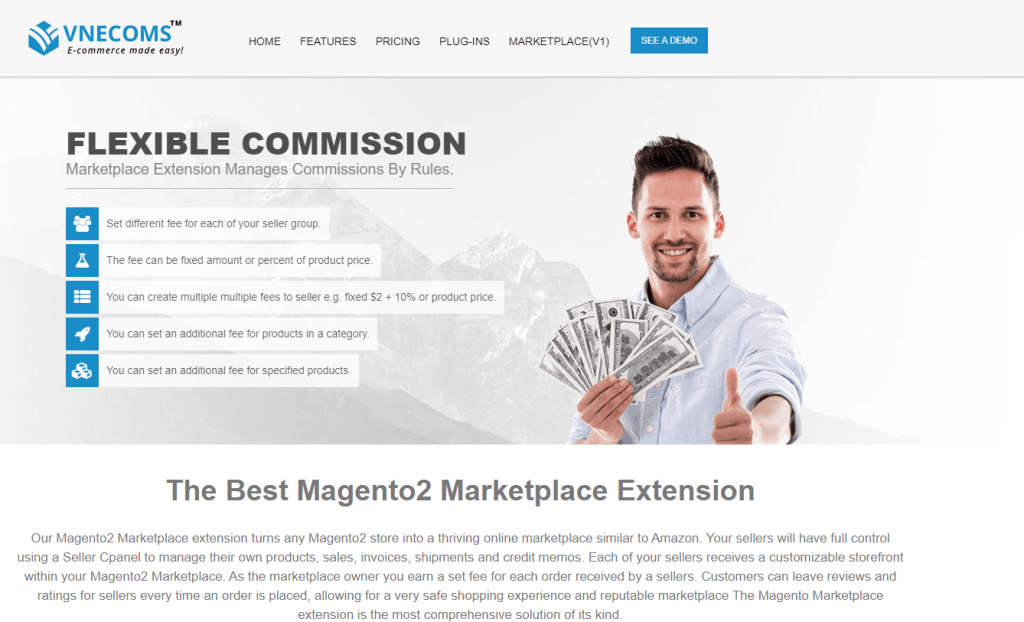 Magento Marketplace Multi Vendor by Vnecoms