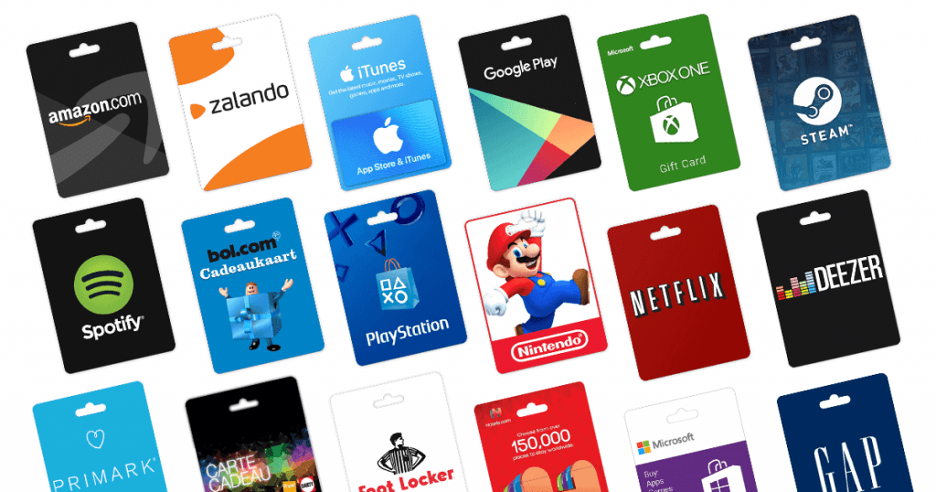 Types of Gift Cards: Store Gift Card