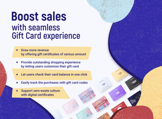 Top 10 Gift Card extension: Amasty