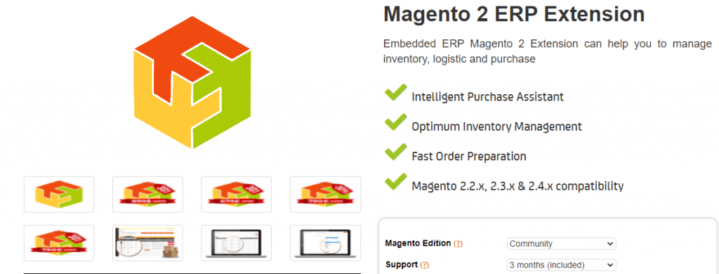 Magento 2 ERP Integration by Boostmyshop