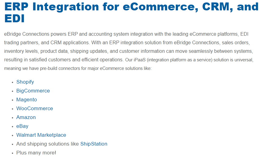 Magento 2 ERP Integration by Ebridge Connections