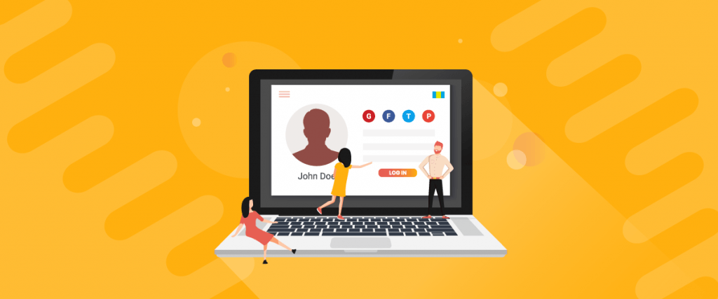 Choosing the right position for social login to let customers see it quickly