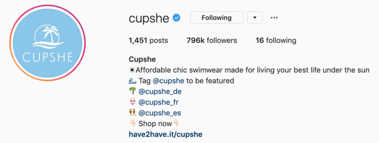 User-Generated content by Cupshe