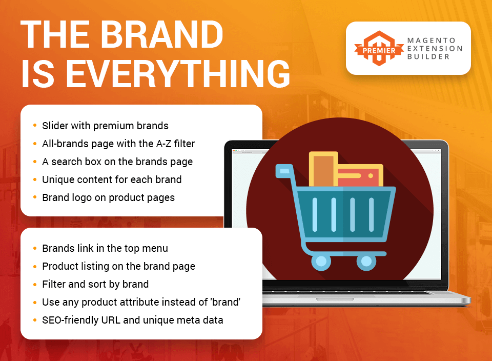 Magento 2 Shop by Brand by Amasty