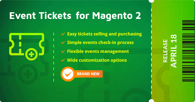 Magento 2 event tickets by Aheadworks