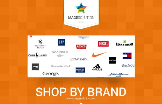 Magento 2 Shop by Brand by MageSolution