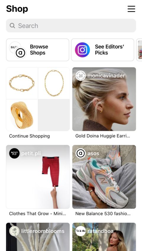 Discovery Feeds are Fully Shoppable and Curated