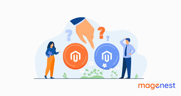 Differences Between Magento Commerce VS Magento Open Source: What Is Suitable For Your Business