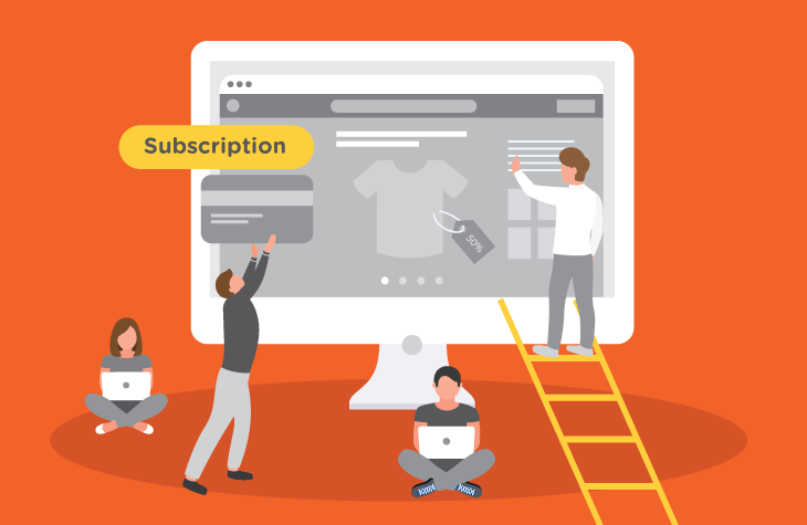 subscription-based eCommerce model