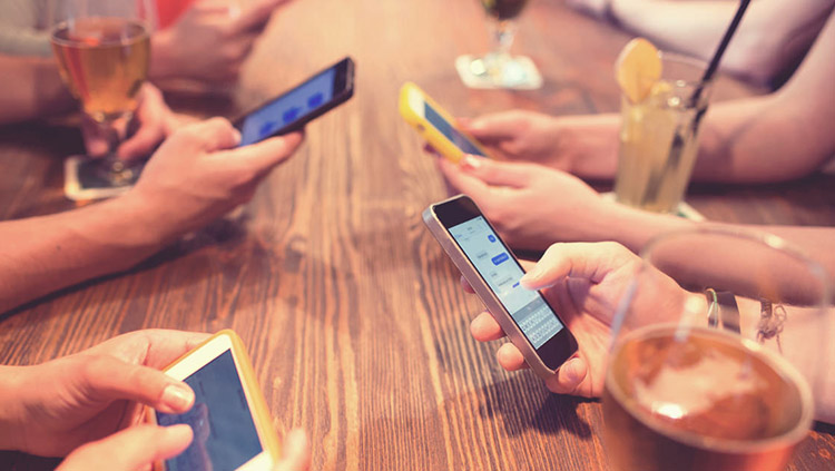 An app helps to build relationships with customers