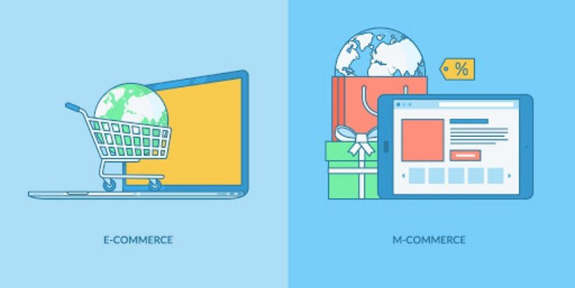 The differences between Mcommerce vs Ecommerce
