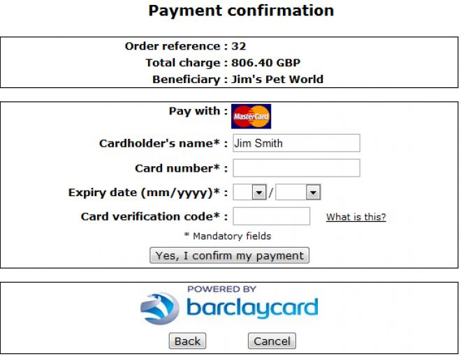 Barclaycard ePDQ Essential and Extra