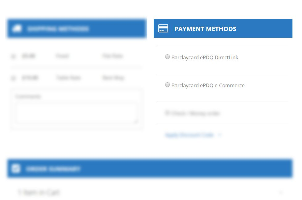 Barclaycard payment method