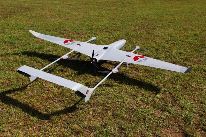 Drone rental business: Fixed-wing Hybrid Vtol