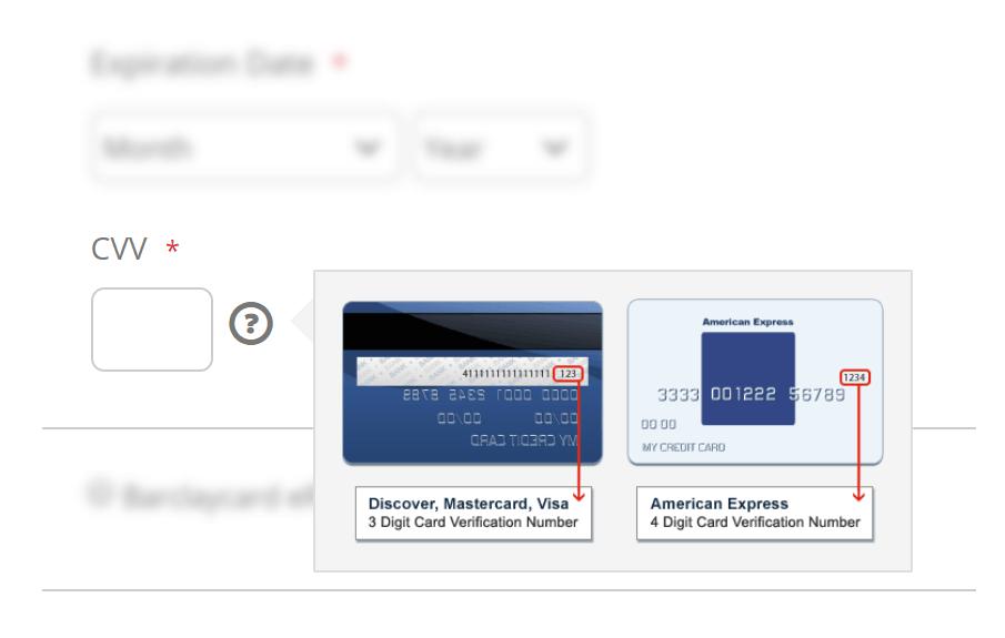 Secure payment process