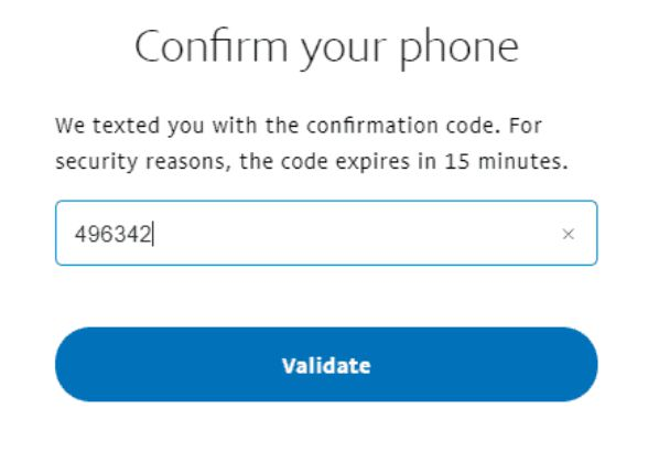 Confirmation code: What to do if you do not get the code