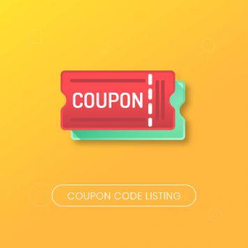 Magento 2 Coupon Code Listing