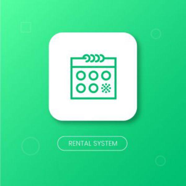 Drone rental business: Rental System