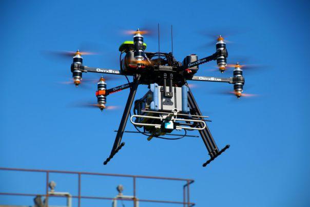 Drone rental business: multi-rotor drone